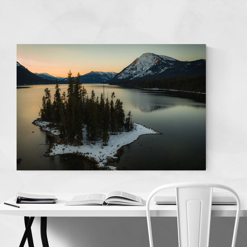Lake Wenatchee Washington Photo Art Print