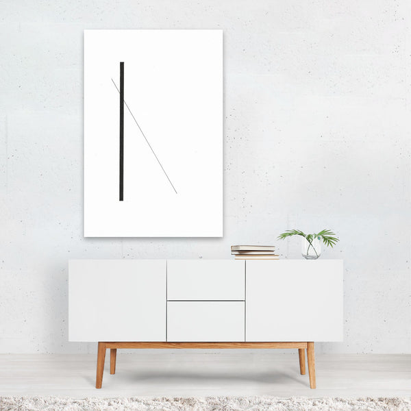Abstract Minimal Line Drawing Art Print