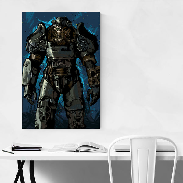 Fallout Video Game Art Print