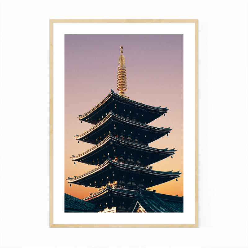 Tokyo Japan Architecture Photo Framed Art Print