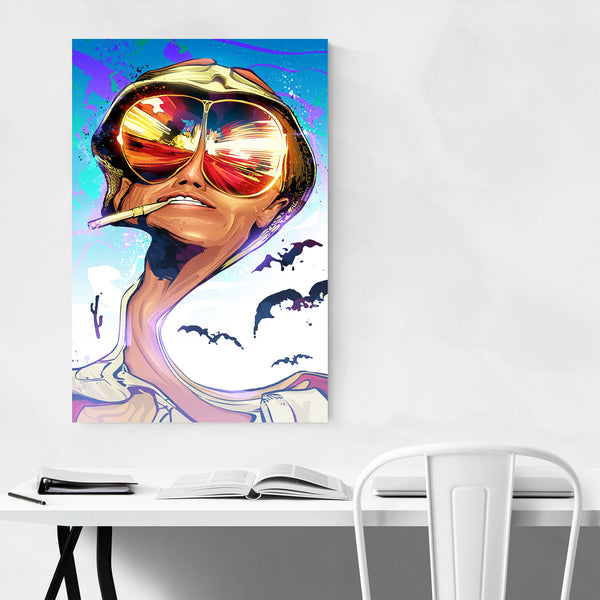 Fear and Loathing in Las Vegas  Art Print