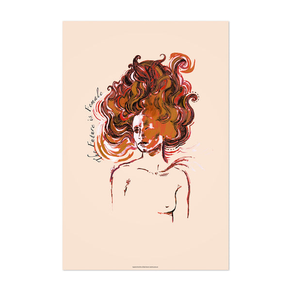 Feminism Figurative Illustration Art Print