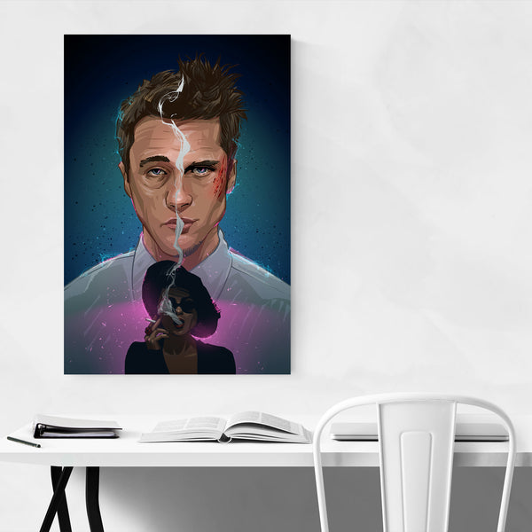 Fight Club Movie Art Print