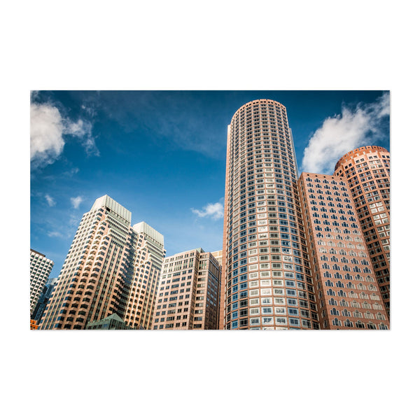 Boston Massachusetts Architecture Art Print