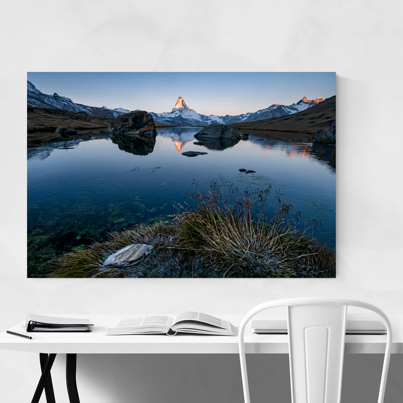 Matterhorn Switzerland Alps Metal Art Print