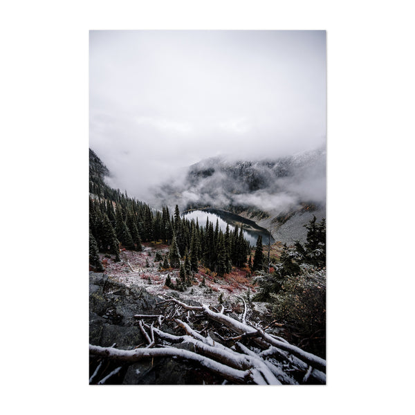 North Cascades Washington Nature Art Print