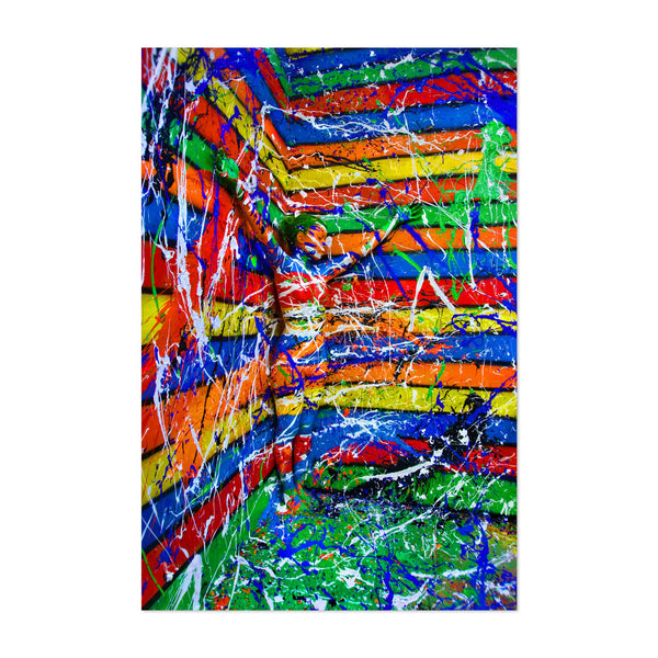 Abstract Painting Art Print