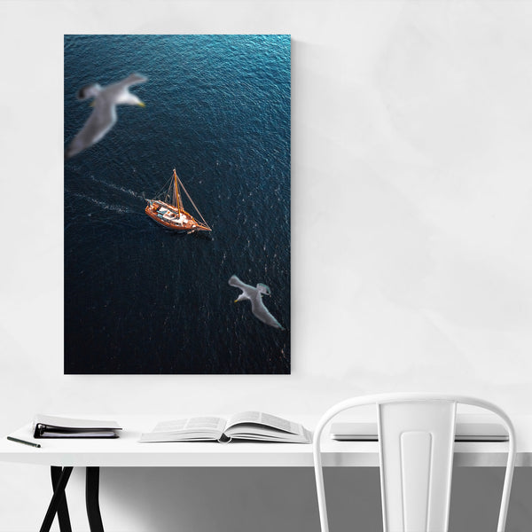 Kristiansand Norway Sailboat Photo Art Print