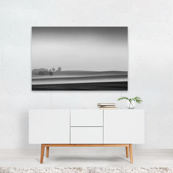 Oregon Fog Nature Photo Art Print