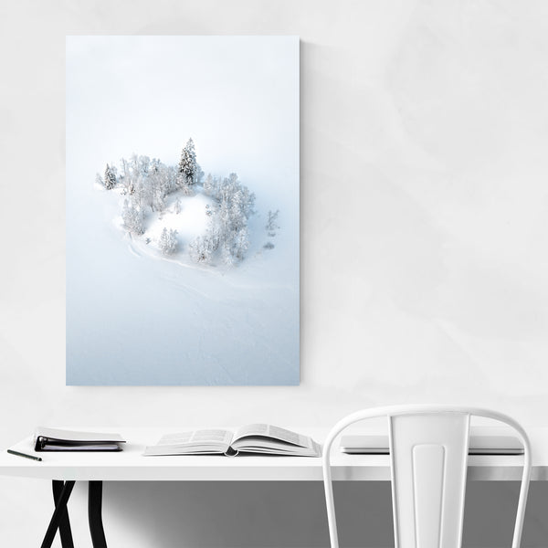 Odda Hordaland Norway Winter Photo Art Print