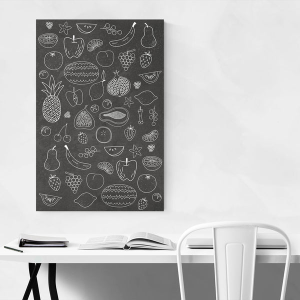 Fruit Food Kitchen Gift Pattern Art Print