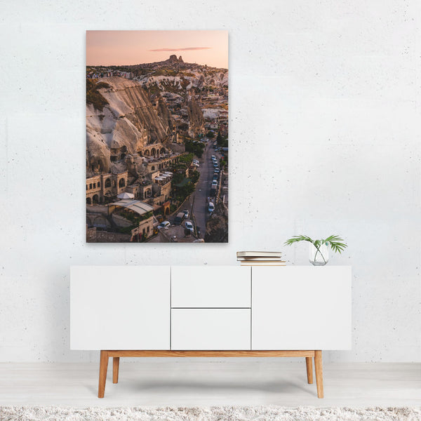 Göreme Turkey Mountains Nature Photo Art Print