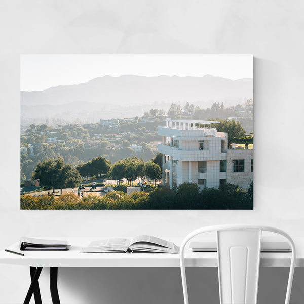 Los Angeles Cityscape Skyline Art Print