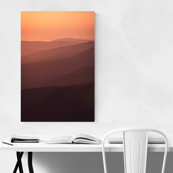 Olympic Mountains Washington Art Print