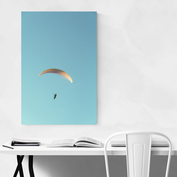Hang Glider La Jolla California Art Print