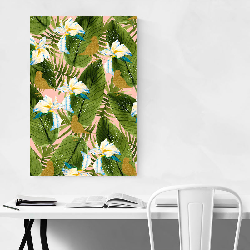 Rain Forest Botanical Pattern Art Print
