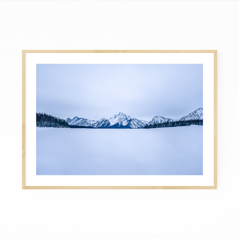 Grand Teton Wyoming Photography Framed Art Print