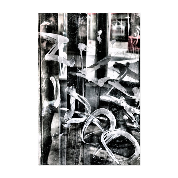 Philadelphia Urban Graffiti Photo Art Print