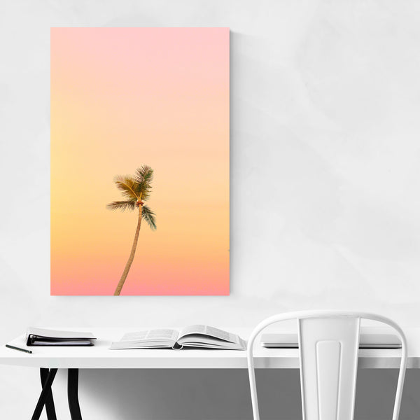Miami Florida Palm Trees Coastal Art Print