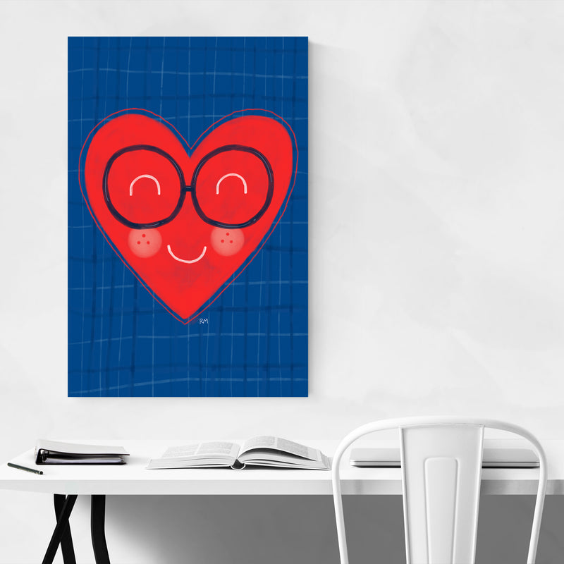 Heart Love Cute Inspirational Art Print