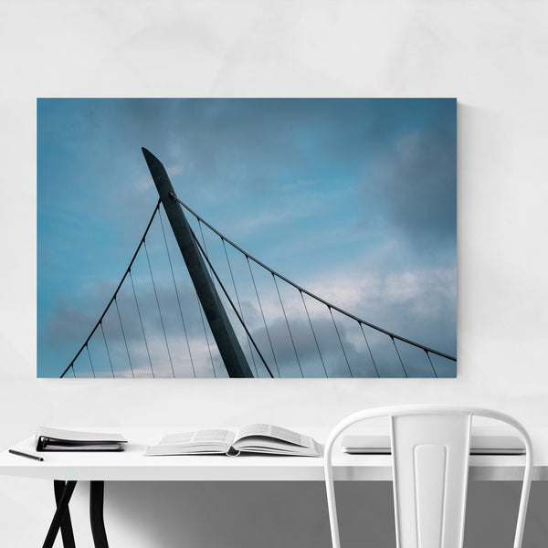 Harbor Drive Bridge San Diego Art Print