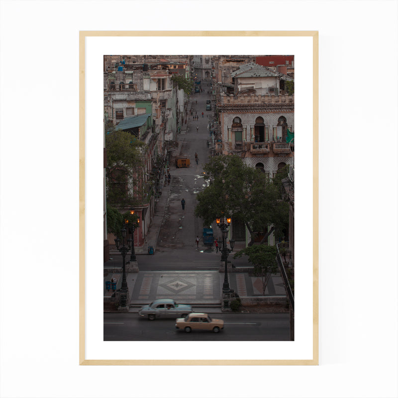 Havana Cuba Urban Photography Framed Art Print
