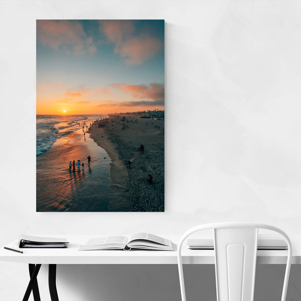 Huntington Beach California Coast Art Print