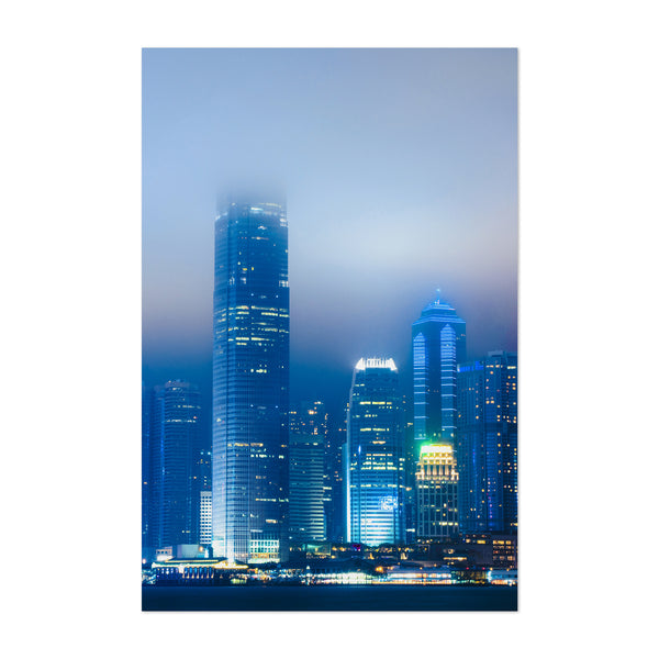 Hong Kong Urban Photography Art Print