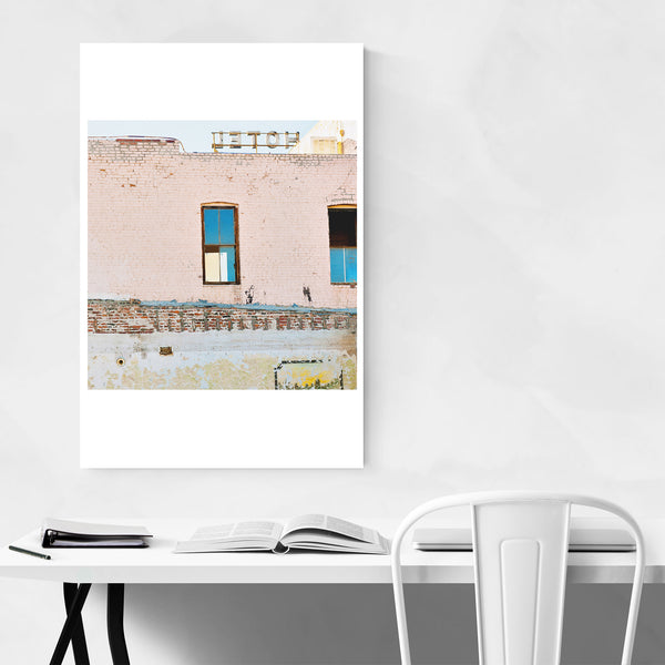 Route 66 Arizona Retro Hotel Art Print