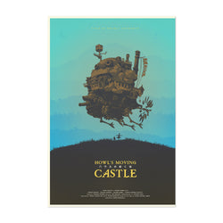 Howl's Moving Castle Film Movie Art Print