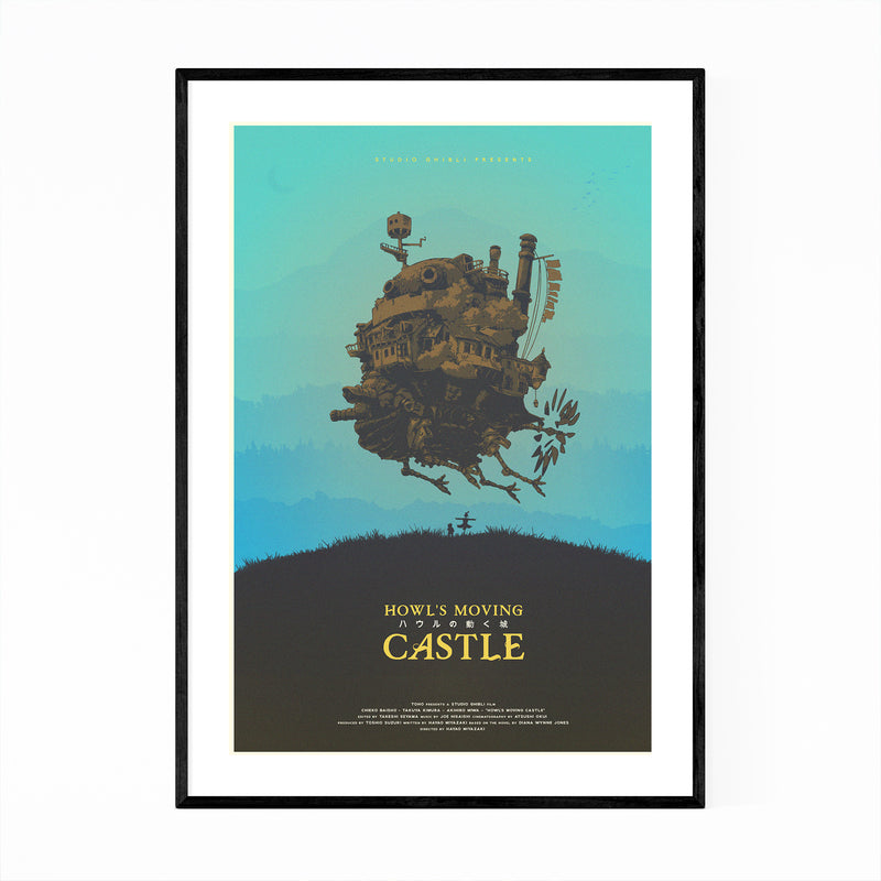 Howl's Moving Castle Film Movie Framed Art Print
