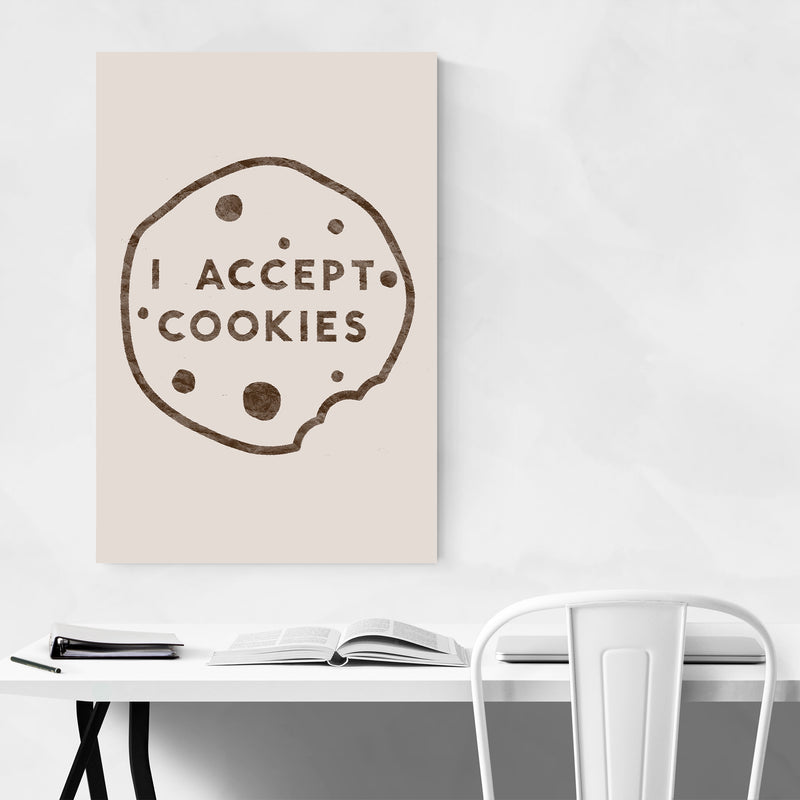 Humor Funny Cookies Kitchen Gift Art Print