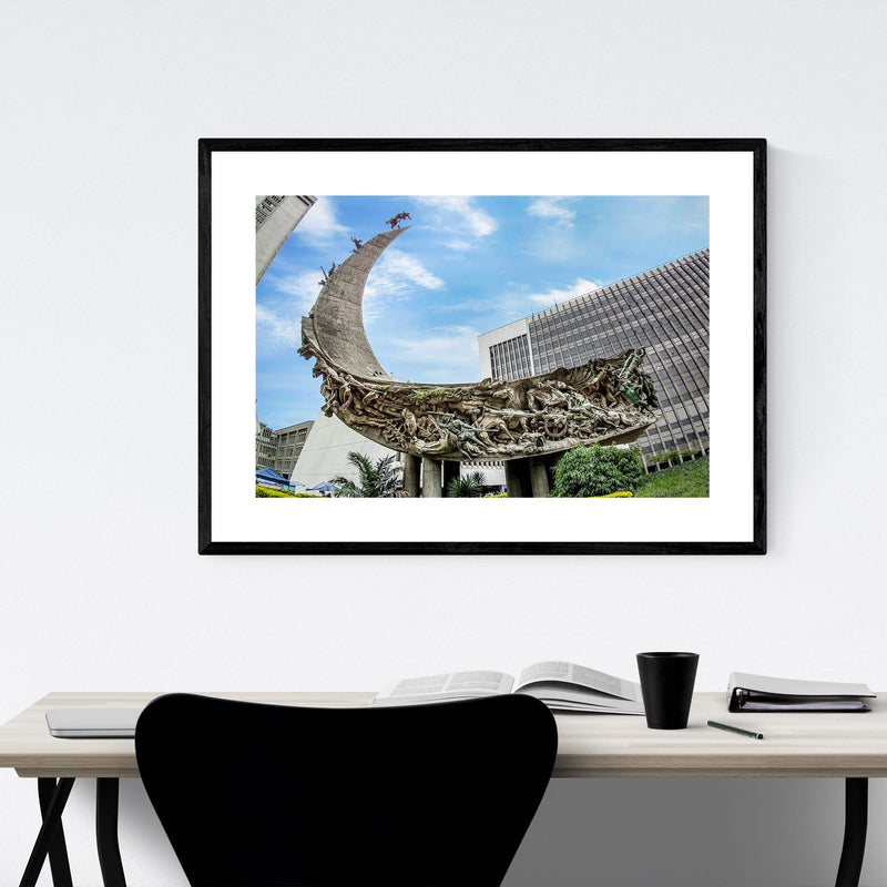 Salento Colombia Architecture Photo Framed Art Print