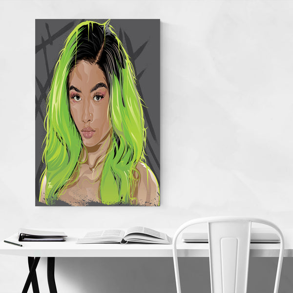 India Westbrooks Portrait Art Print