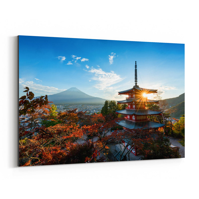 Arakura Sengen Shrine Japan Canvas Art Print