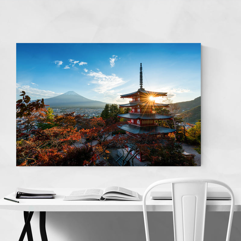 Arakura Sengen Shrine Japan Art Print