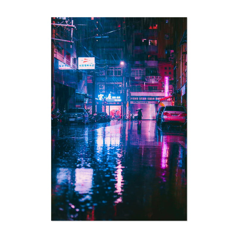 Taipei Taiwan Urban Photography Art Print