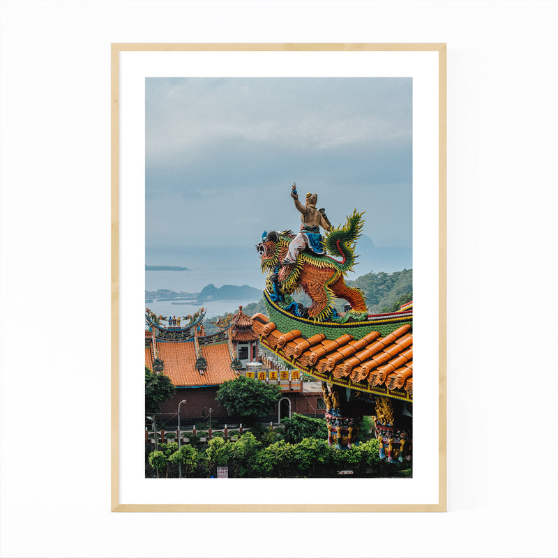 Badian Philippines Photography Framed Art Print