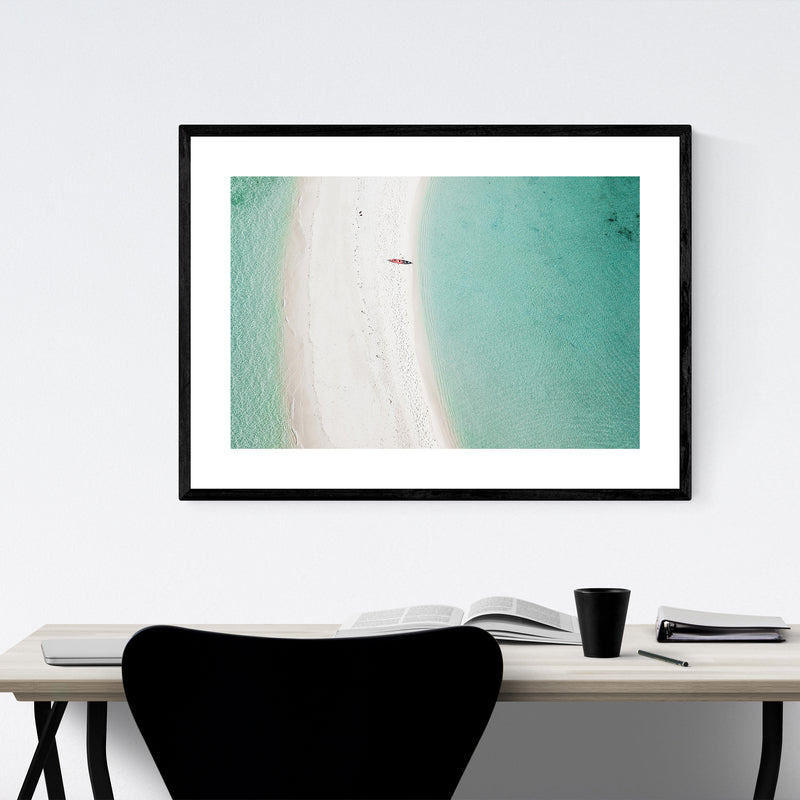 El Nido Philippines Coastal Photo Framed Art Print