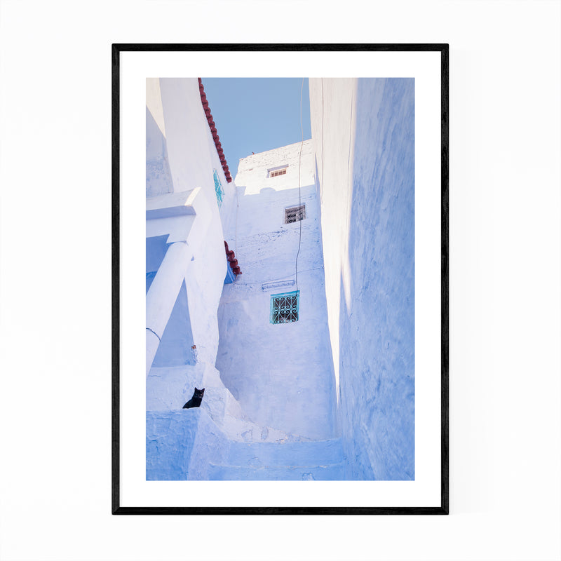 Chefchaouen Morocco Photography Framed Art Print