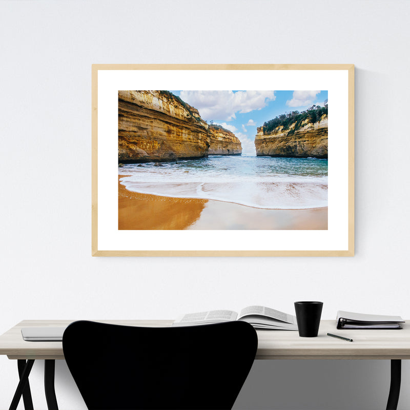 Great Ocean Road Australia Beach Framed Art Print