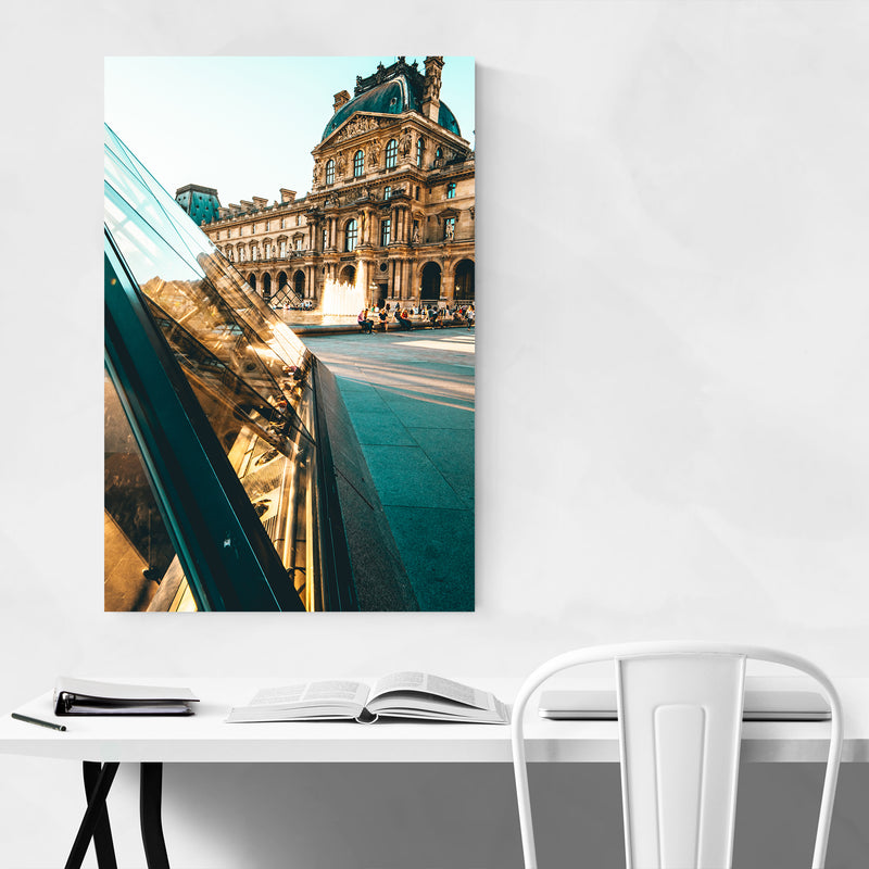 Paris France Louvre Museum Photo Art Print