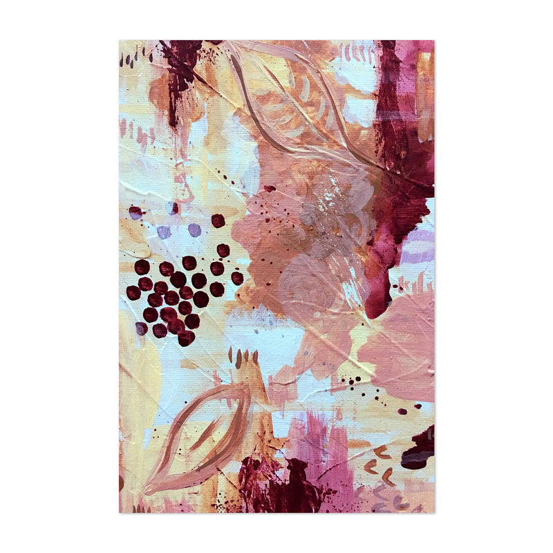 Abstract Pastel Modern Painting Art Print