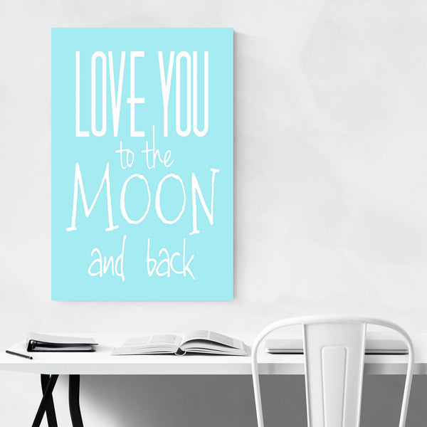 Love You Inspiration Typography Art Print
