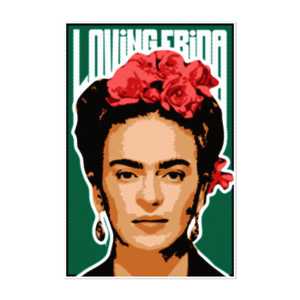 Frida Kahlo Portrait Illustration Art Print