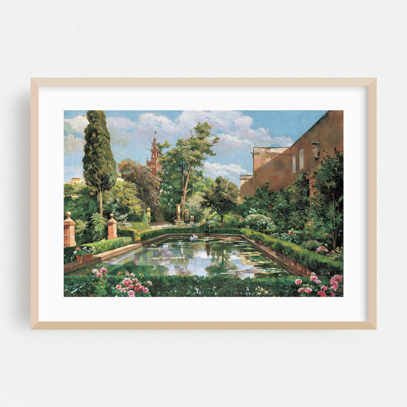 Nature Painting Framed Art Print