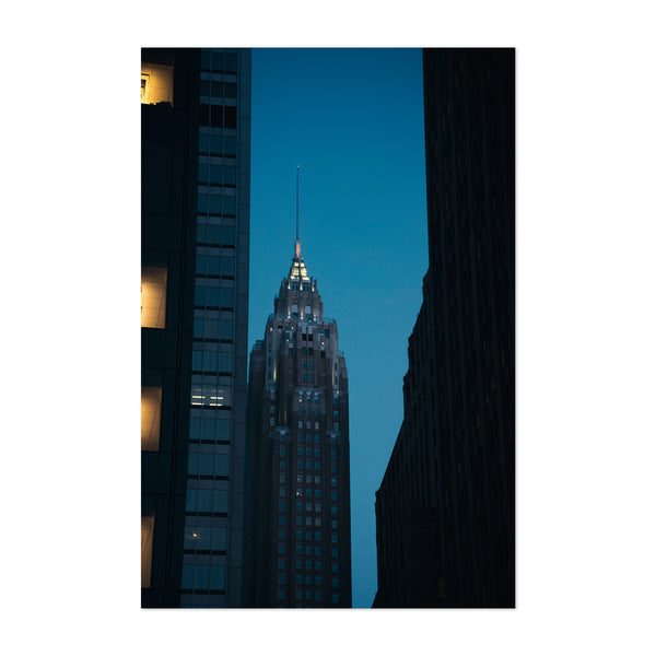 New York Urban Architecture Photo Art Print
