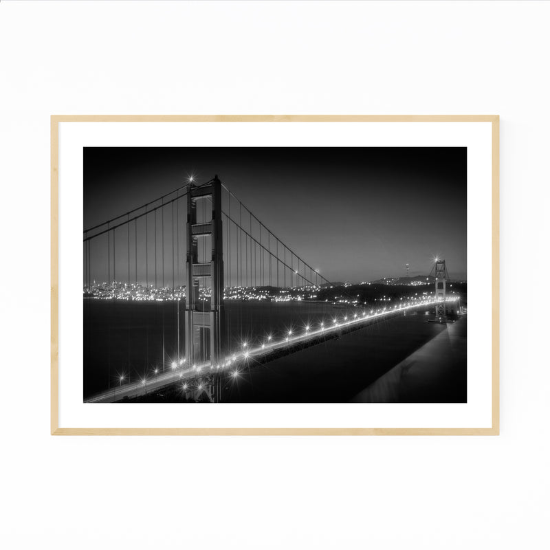 Golden Gate Bridge San Francisco Framed Art Print