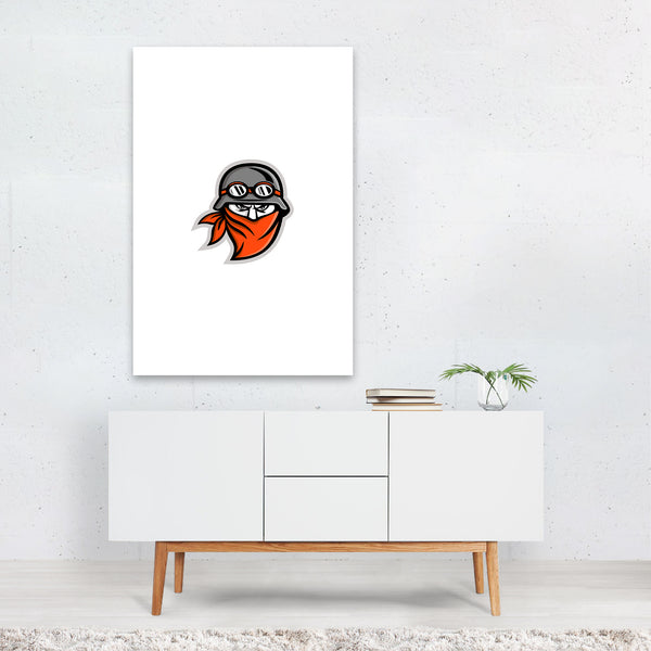 Motorcycle Club Outlaw Rider Art Print