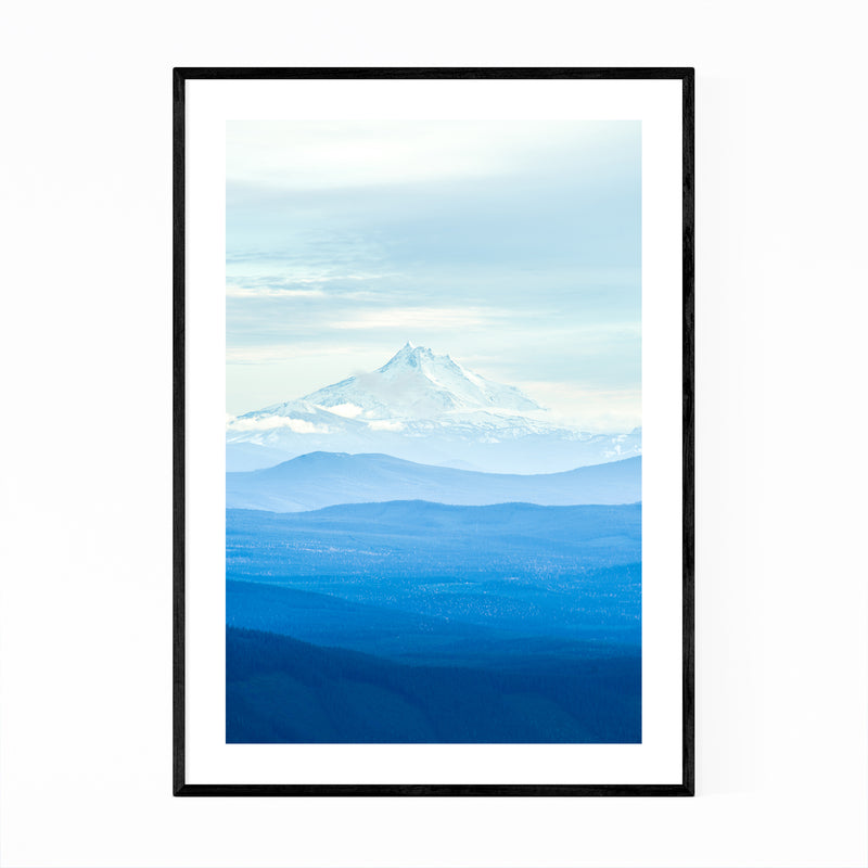 Mount Hood Oregon Photography Framed Art Print